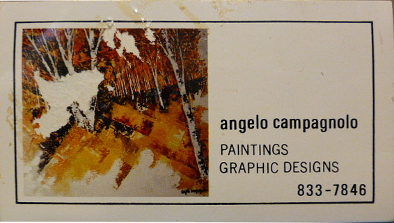 Angelo Campagnolo business card