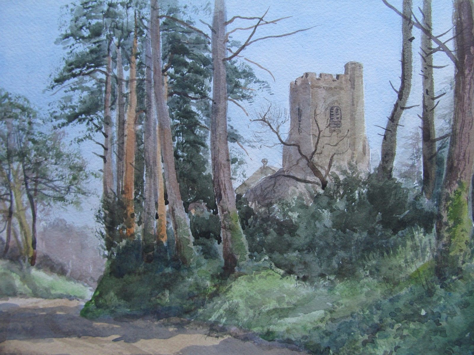 """The Old Abbey""                     Dorothy Livermore Bishop"