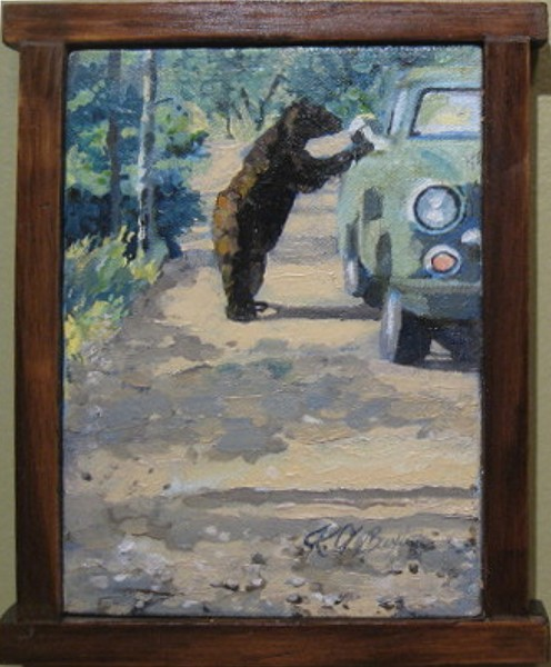 "Kathryn Stott Buxton                 ""Yellowstone Bear"""
