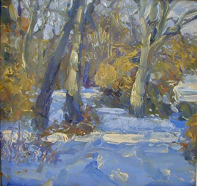 """Dale Park             in Winter"" Dale C. Evans"