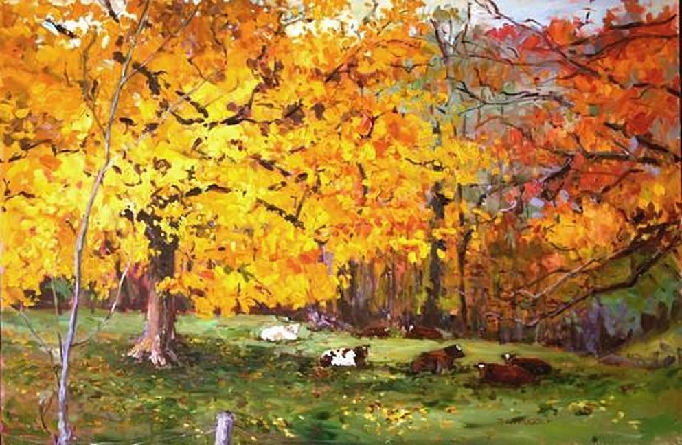 Fall Pasture by Tracey Frugoli