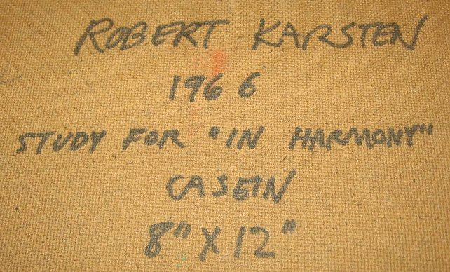 Karsten inscription