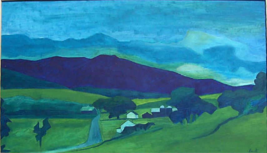 George Knecht The Blue Ridge