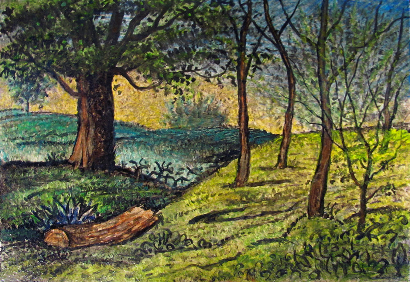 """Ode to Samuel                     Palmer"" by Jeff Little"