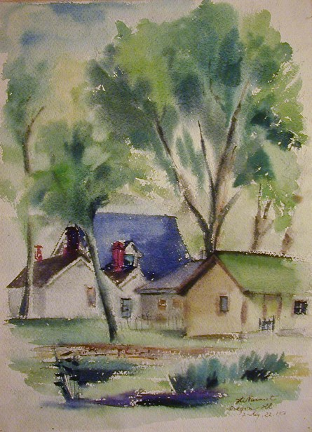 Harry Nurmet watercolor