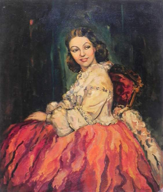 portrait by Bernice Ozmun