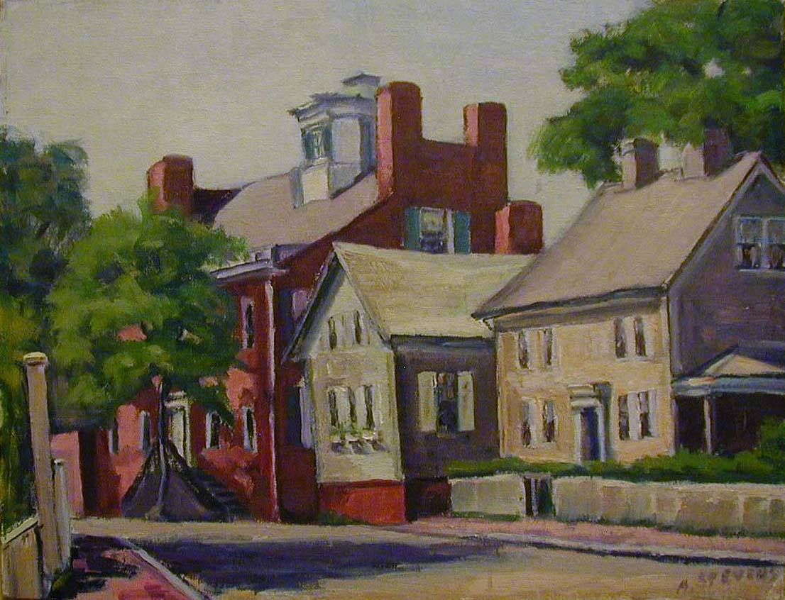 Watercolor artists directory wiki - Ann B Stevens Pleasant